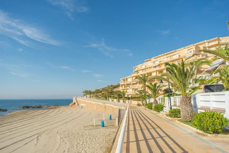 MARINE-1: Sea views. Direct access to 2 beaches - Apartamento