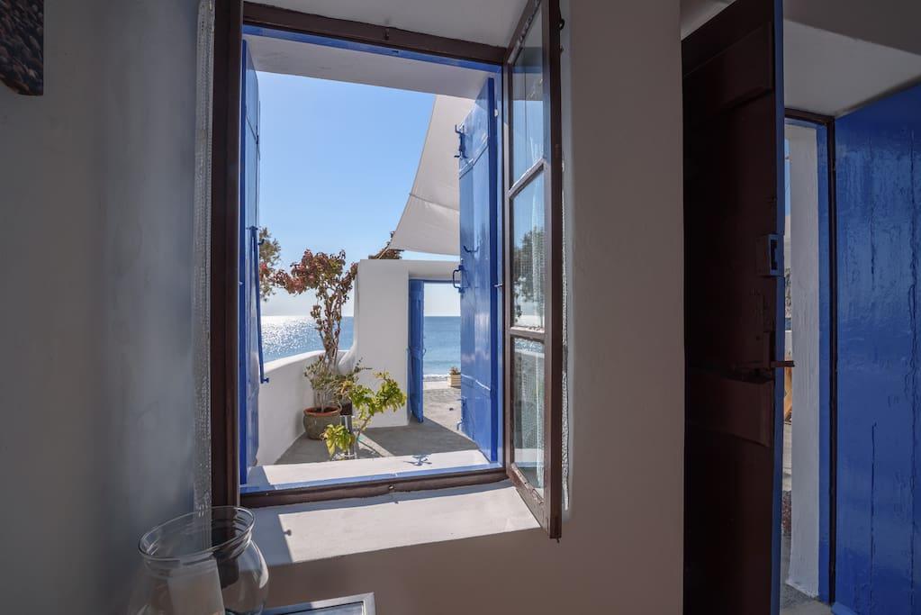Window to paradise!