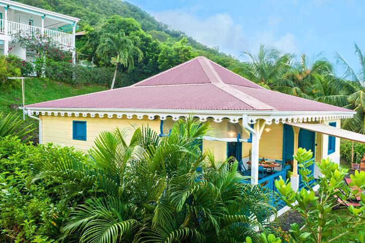 Villa indépendante tout confort - Plage à 250 m - Les Anses-d'Arlet - Rumah