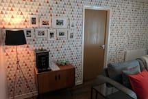 Modern city centre flat (single room)