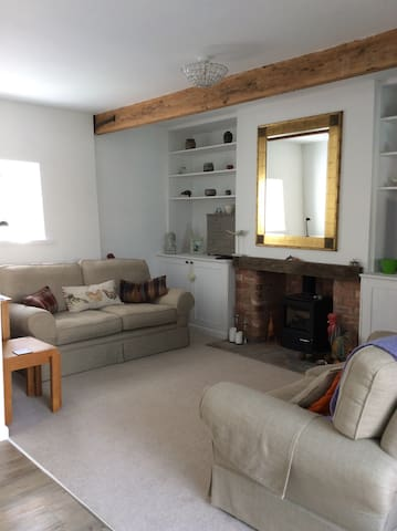 Barn conversion, double bedroom with own bathroom