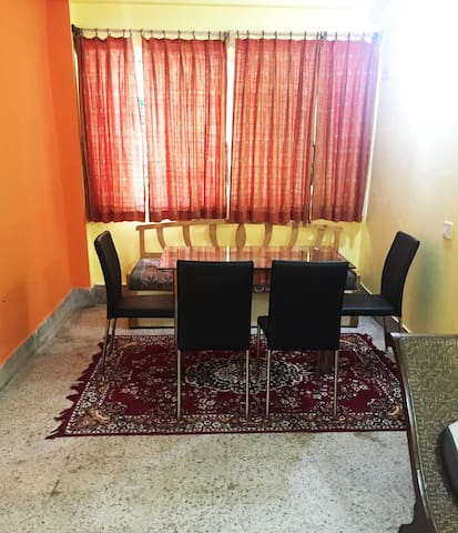 Two bedroom apartment located close to the airport