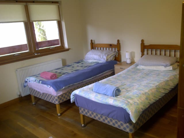 Ariundle Accommodation -- Red Room