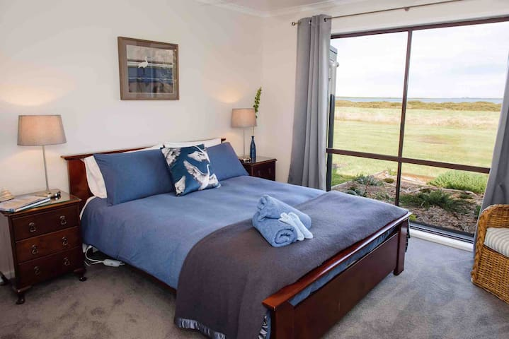 Bedroom 1 - The Bluewater Room
