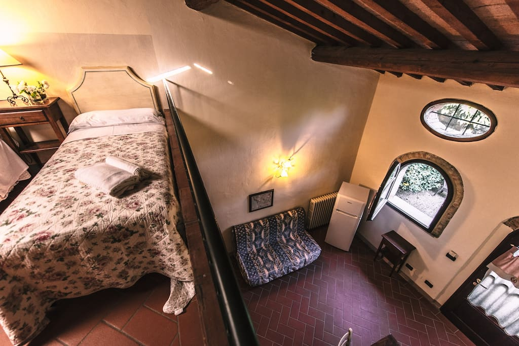 appartamento vista dal soppalco