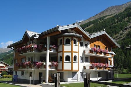 Haus Alpenstern, Alpenszene Pur - Saas-Grund - Huoneisto