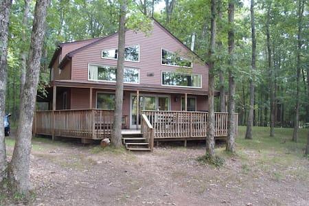 Lake Front home in Poconos - White Haven - Hus