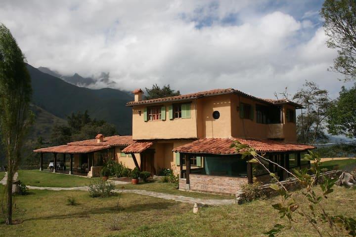 Sándalo Posada alojamiento exclusivo en la montaña