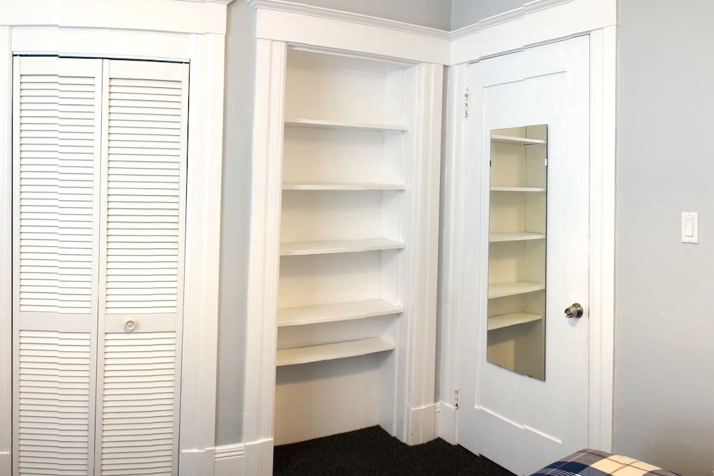 Lots of storage/closet space!