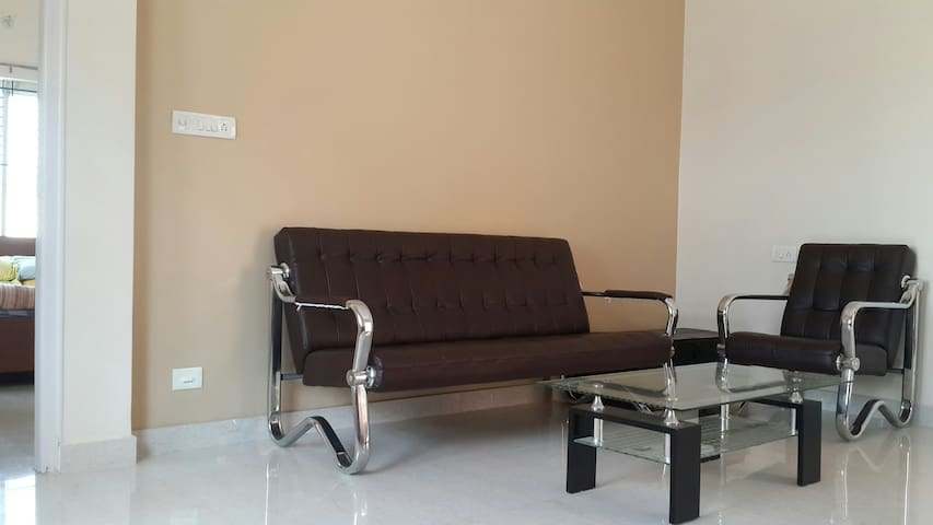 Melrose Place Gokulam 1 bedroom apartment.
