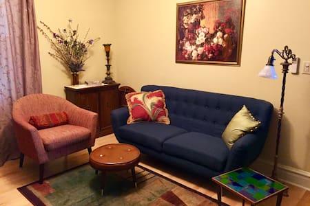 Gorgeous, cozy 1-bedroom Suite in Andersonville