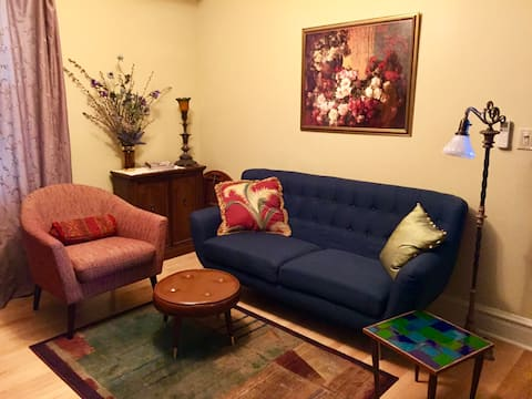 Preciosa y acogedora suite de 1 dormitorio en Andersonville