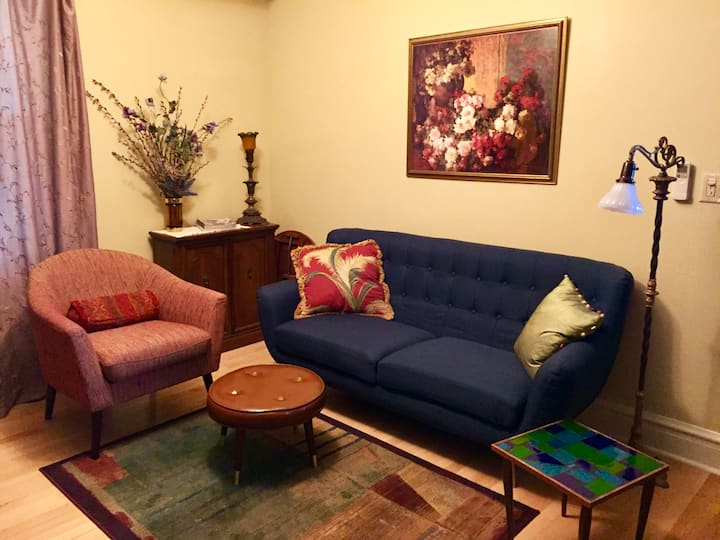 Gorgeous, cozy 1-bedroom Suite in Andersonville