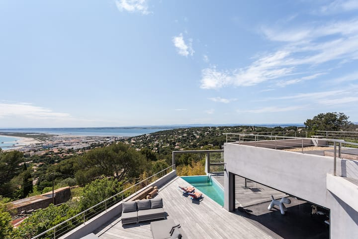 Beautiful Contemporary House in Sète- South France