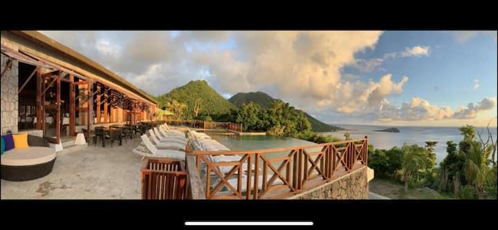 Luxury Villa in Jungle Bay Resort Dominica