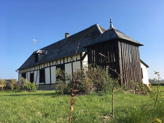 la  Longère Brayonne - Gournay-en-Bray - Tatil evi