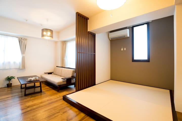 Direct Airport, Nanba Station walk 3min/A3