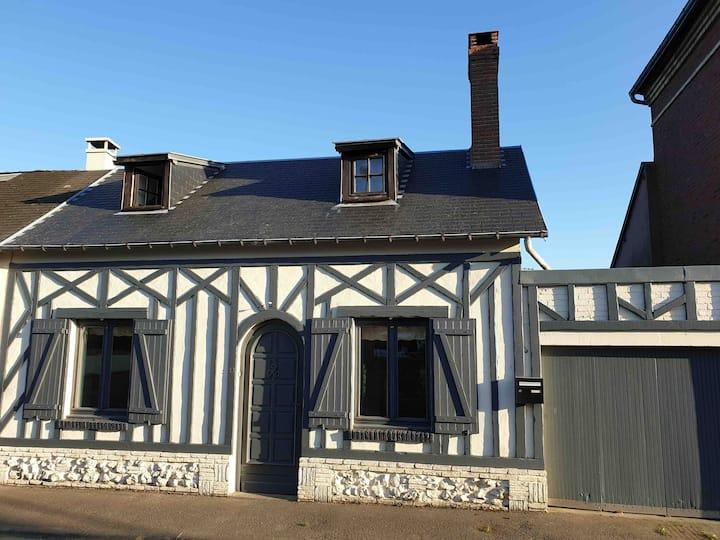Petite maison de caractère à 15mn d'Honfleur