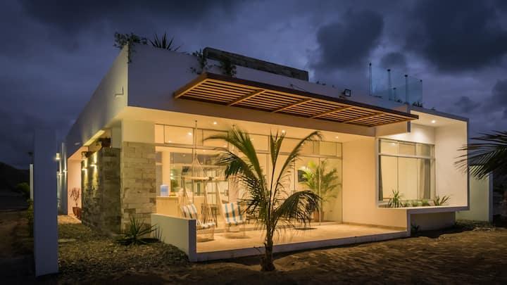 House in Los Orgános, Máncora, Piura.@