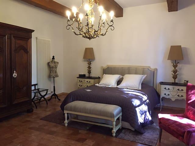 Chambre Tilleul au Château de Saint Félix