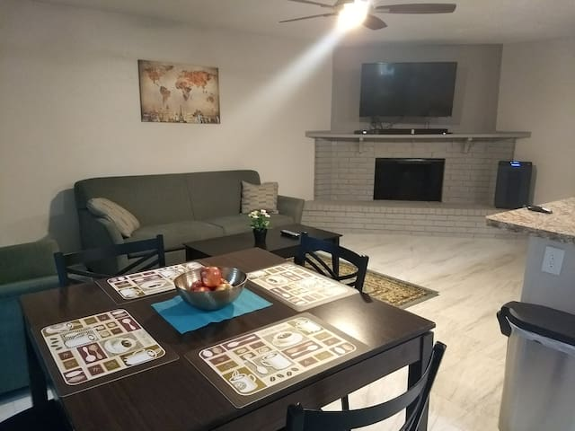 Next to Hwy 121; great for families