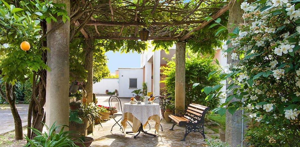 """Villa Donna Vincenza """"Orange room"""""""