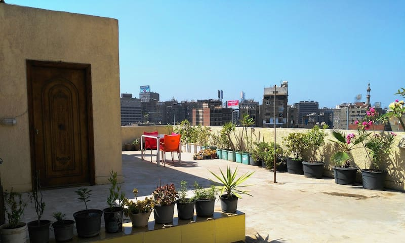Roof Sunny Flat Top Egypt - Giza Governorate - Apartment