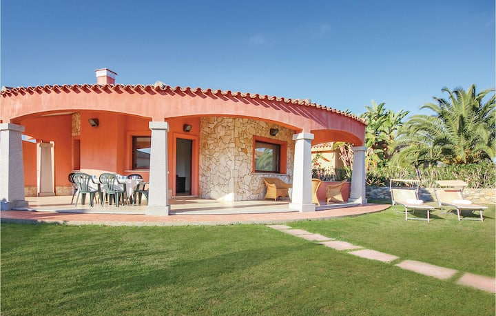 Stunning home in Costa Rei -CA- with 3 Bedrooms