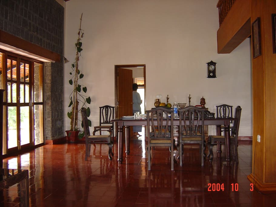 Dinning Room and a view of the main hall