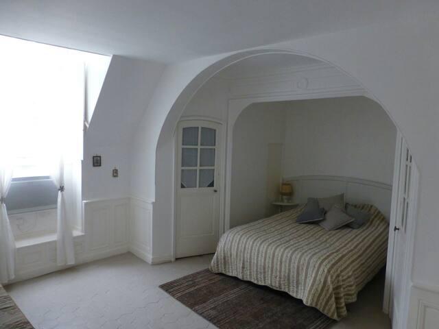 chambre dans château 18ème