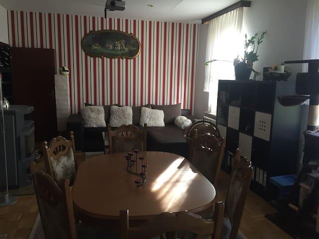 Ich teile mit Euch meine Wohnung - Reichenbach im Vogtland - Apartament