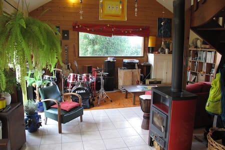 Maison individuelle en bois - Saint-Germain-sur-Ille - Huis