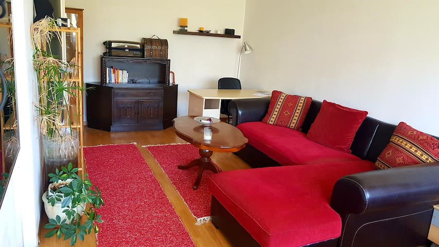 40 meter square, 7min walk from the rail station