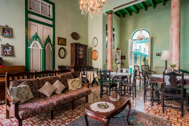 Colonial Home in the heart of Havana4/5
