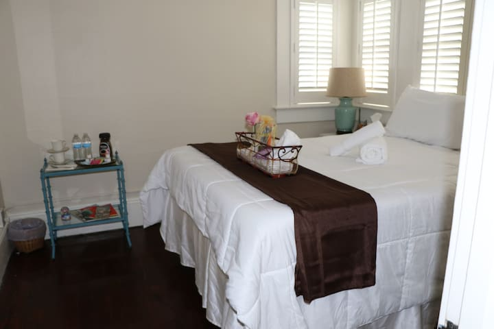 Cozy room in excellent downtown area (Ruth Room)