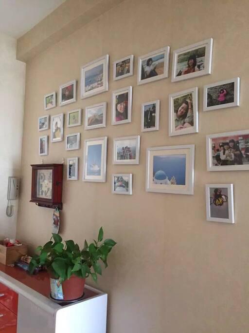 门廊相片墙