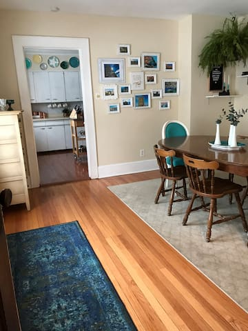 Artsy Downtown Syracuse Apartment