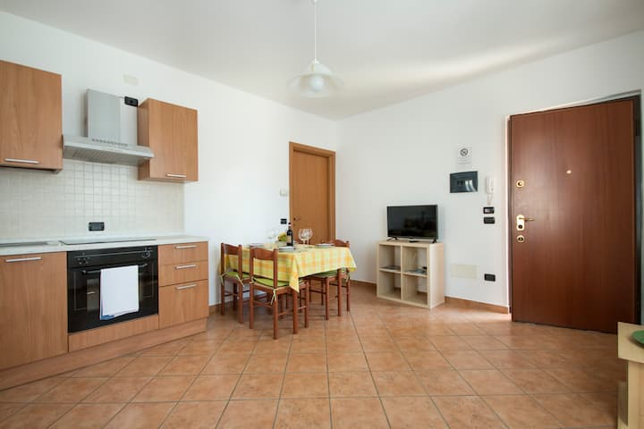 Apartment up to 4 near the beach