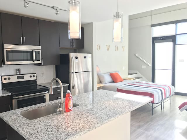 CITY LOFT! DOWNTOWN! FREE PARKING!