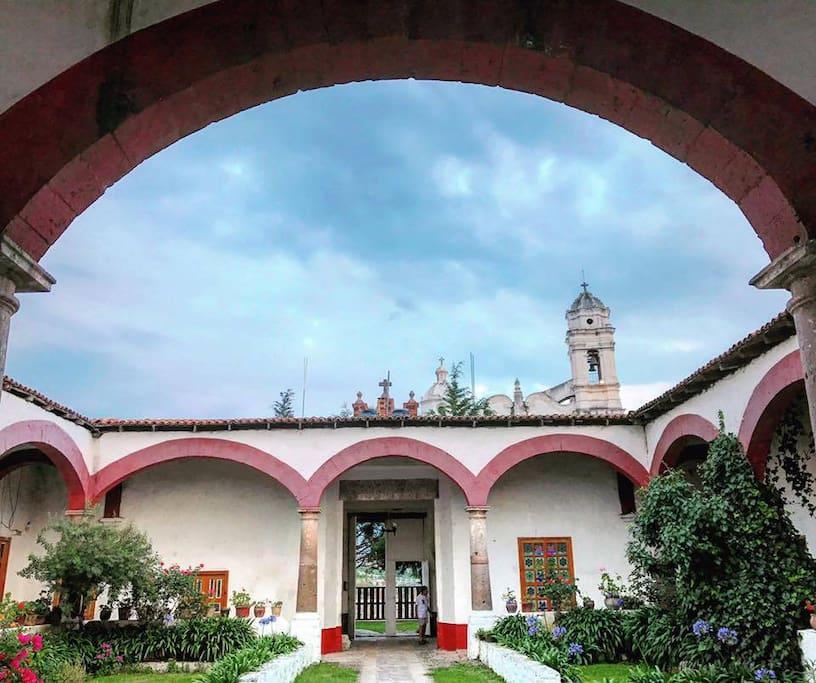 La tradicional arquitectura colonial te encantará