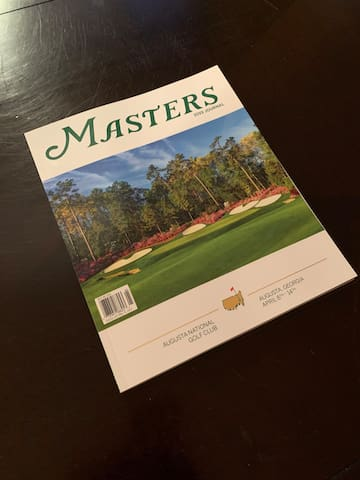 New Masters Journal 2019- please leave in the home for others to enjoy!