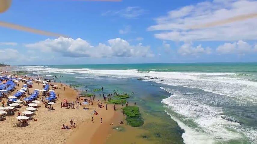 Imóvel único em frente as dunas e próximo a praia
