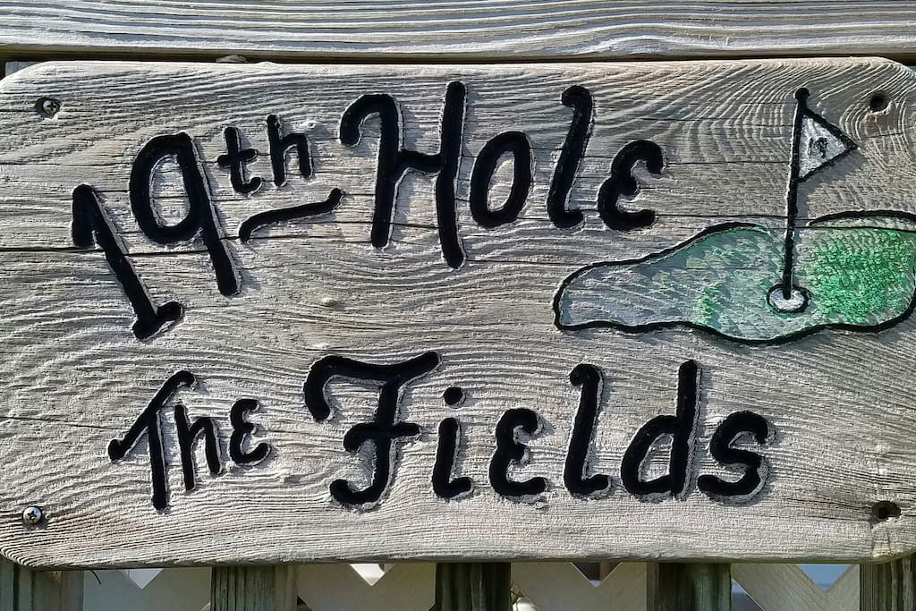 Welcome to the 19th Hole