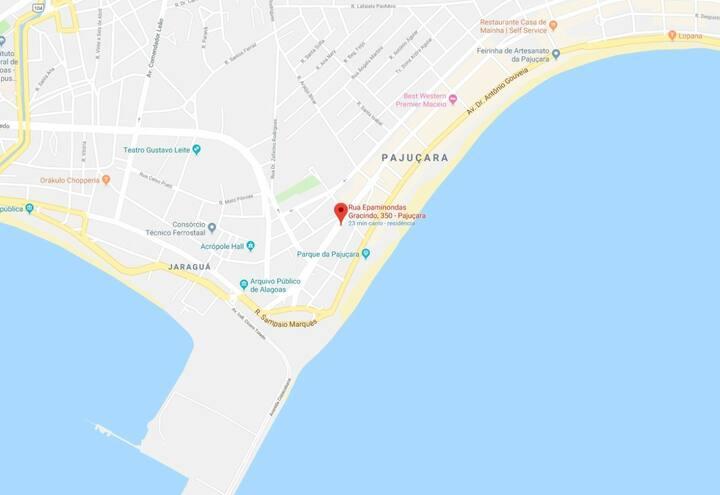 (04)Quarto família p até 4 pessoas praia Pajucara