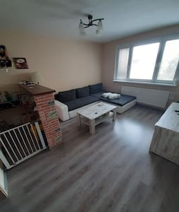 Comfortable flat for family with children