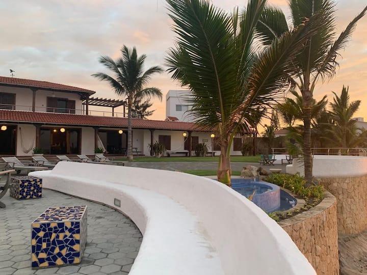 Family vacation house in Ecuadorian coast