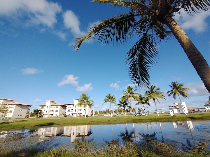 Apartamento mobiliado na Praia do Saco/SE.