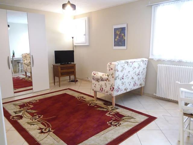 "Joli studio dans villa ""Coccinelle"""