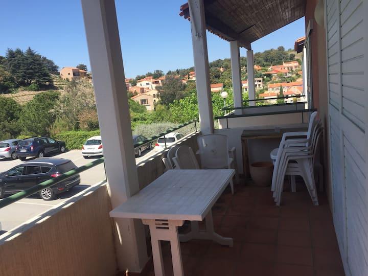 Appartement duplex 5 pers au calme avec terrasse