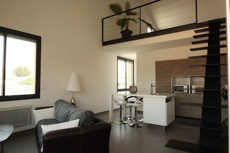 Loft 50m² proche centre historique - Appartement